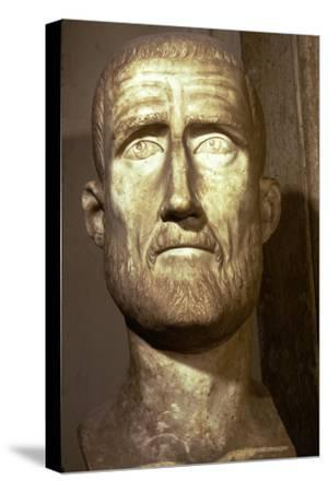Bust of Probus, Roman Emperor (276-282), c3rd century-Unknown-Stretched Canvas Print