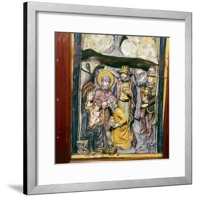 Adoration of the Magi, Faenza, Italy, c1490-Unknown-Framed Giclee Print