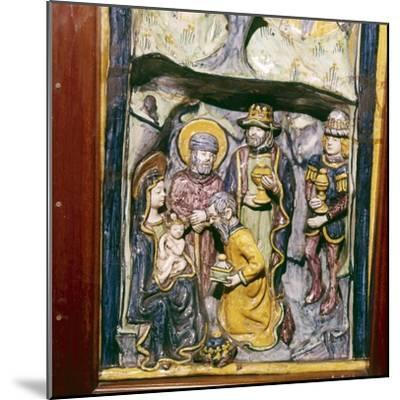 Adoration of the Magi, Faenza, Italy, c1490-Unknown-Mounted Giclee Print