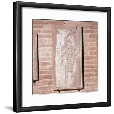 Soldier of the 4th Crusade, Mosaic in church of San Giovanni Evangelista, 13th century-Unknown-Framed Giclee Print