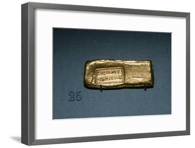 Roman Gold Bar, c4th-5th century-Unknown-Framed Giclee Print