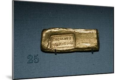 Roman Gold Bar, c4th-5th century-Unknown-Mounted Giclee Print