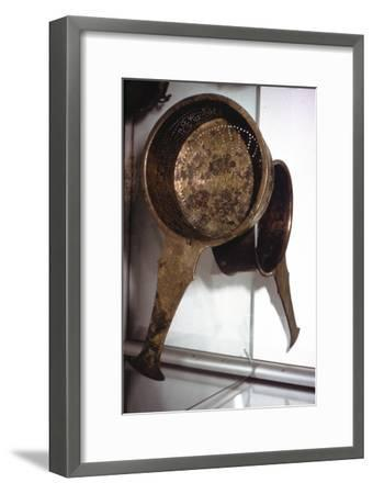 Roman bronze Strainer from Germany, c2nd century-Unknown-Framed Giclee Print