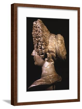 Head of Roman Lady of Flavian Period, late 1st century-Unknown-Framed Giclee Print