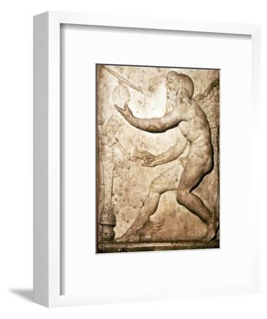 Roman Relief of Saturn-Unknown-Framed Giclee Print