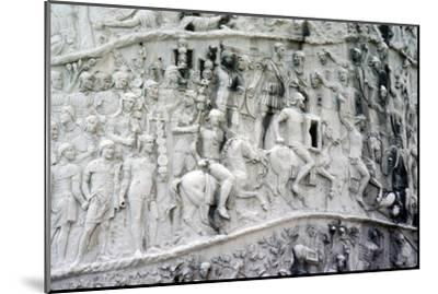 Roman Cavalry and Auxiliaries, Trajan's Column, Rome, c2nd century-Unknown-Mounted Giclee Print