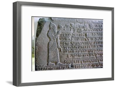 Cuneiform, Ahura Mazda-Unknown-Framed Giclee Print