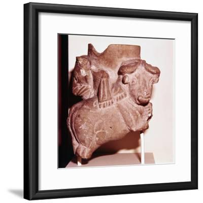 Sumerian Libartion Vase from Uruk (Warka), Southern Iraq, c2900 BC-Unknown-Framed Giclee Print