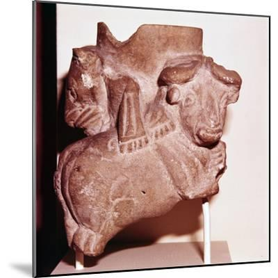 Sumerian Libartion Vase from Uruk (Warka), Southern Iraq, c2900 BC-Unknown-Mounted Giclee Print
