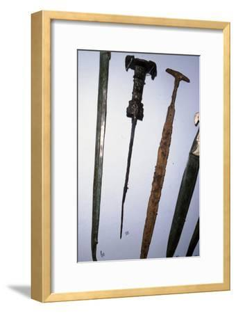 Mesopotamian weapons, c3100 BC-Unknown-Framed Giclee Print