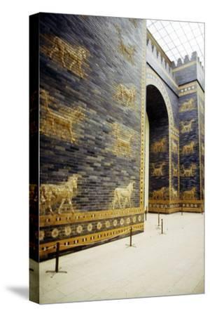Ishtar Gate, Babylon, 575 BC, (c20th century)-Unknown-Stretched Canvas Print