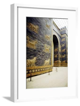 Ishtar Gate, Babylon, 575 BC, (c20th century)-Unknown-Framed Giclee Print