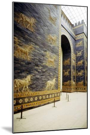 Ishtar Gate, Babylon, 575 BC, (c20th century)-Unknown-Mounted Giclee Print
