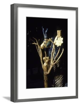 Ram or Goat in a Bush from Ur, Early Dynastic, 2600 BC-Unknown-Framed Giclee Print
