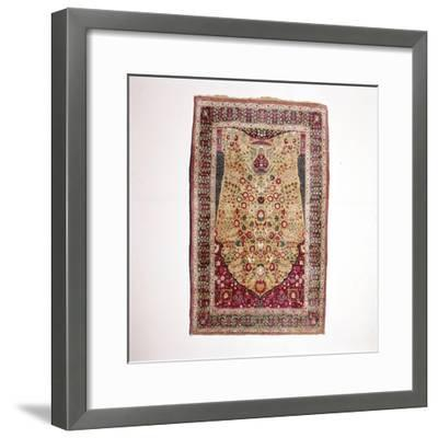South Persian Prayer Rug, 18th century-Unknown-Framed Giclee Print