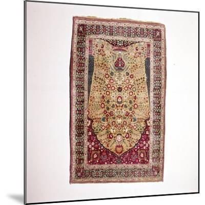 South Persian Prayer Rug, 18th century-Unknown-Mounted Giclee Print