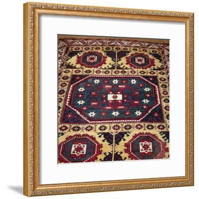 Turkish Rug with Garden Theme, 18th century-Unknown-Framed Giclee Print