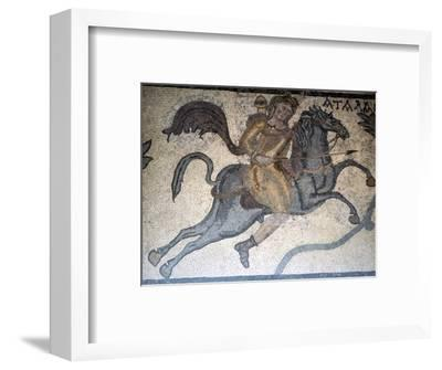 Atlanta on Horseback, Carthage Mosaic, c3rd century-Unknown-Framed Giclee Print