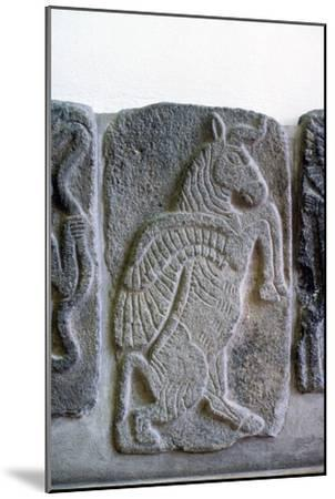 Hittie relief, Tel Halaf, 6100 BC - 5100 BC-Unknown-Mounted Giclee Print