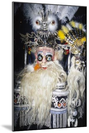 Oruro Mask, Bolivia-Unknown-Mounted Giclee Print