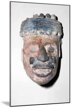 Aztec Pottery Head, 1300-1521-Unknown-Mounted Giclee Print