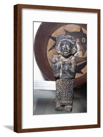 Earthenware Figure, Late Aztec, Mexico, 15th or 16th century-Unknown-Framed Giclee Print