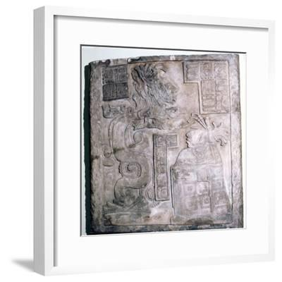 Mexican Serpent, God and Priest, Pre-Columbian, Maya Culture, 770-Unknown-Framed Giclee Print