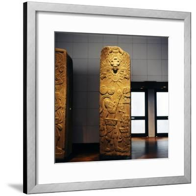 Priest Makes Offering to Mayan Sun God-Unknown-Framed Giclee Print