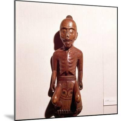 Figure of a Medicine Man, Haida Tribe, Pacific Northwest Coast Indian-Unknown-Mounted Giclee Print