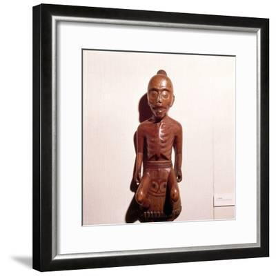 Figure of a Medicine Man, Haida Tribe, Pacific Northwest Coast Indian-Unknown-Framed Giclee Print