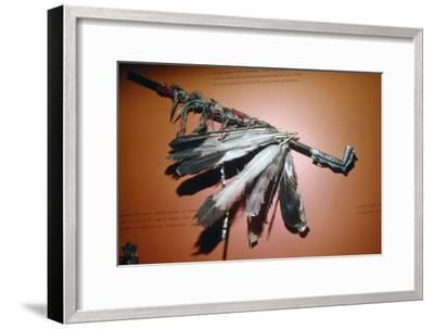 Men Omini War-Pipe, North American Indian-Unknown-Framed Giclee Print