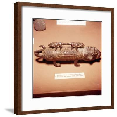 African Bronze Ofo Ritual Casting, Western Ibo-Unknown-Framed Giclee Print