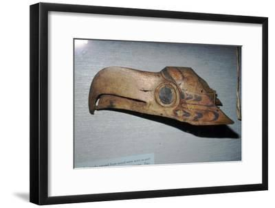 Nootka Eagle Mask, Pacific Northwest Coast, North American Indian-Unknown-Framed Giclee Print