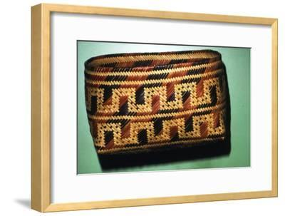 North American Chitimacka Indian Basket-Unknown-Framed Giclee Print
