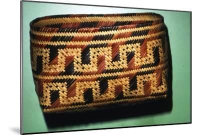 North American Chitimacka Indian Basket-Unknown-Mounted Giclee Print