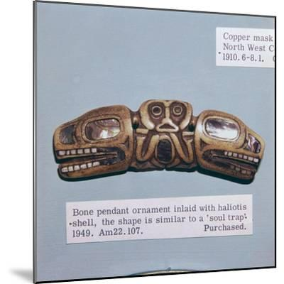Pacific Northwest Coast Indian Haida Tribe, Soul Trap, used by a Shaman-Unknown-Mounted Giclee Print