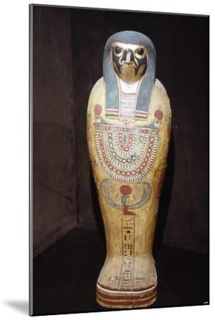 Egyptian Mummy of a Hawk representing Horus, c1st century BC-1st century-Unknown-Mounted Giclee Print