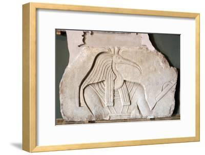 Thoth: Egyptian God: Ibis headed. Vatican-Unknown-Framed Giclee Print