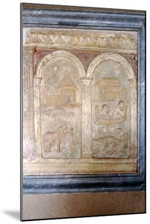 Nile animals on panel in the Vatican-Unknown-Mounted Giclee Print