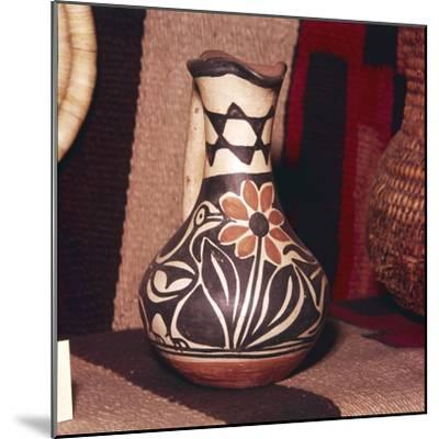 Decorated Pot, Zuni Tribe, Pueblo Indians. North America-Unknown-Mounted Giclee Print