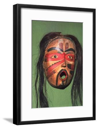 Kwakiutl Face-Mask, Pacific Northwest Coast Indian-Unknown-Framed Giclee Print