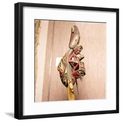North American Indian Shaman's Rattle, Thunderbird-Unknown-Framed Giclee Print