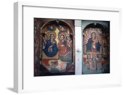 Christian Church wall painting, Ethopia-Unknown-Framed Giclee Print