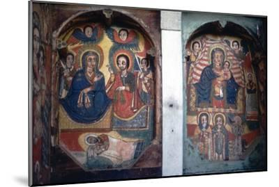 Christian Church wall painting, Ethopia-Unknown-Mounted Giclee Print