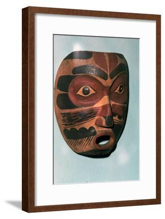 Kwakiutl Face Mask, Pacific Northwest Coast Indian-Unknown-Framed Giclee Print