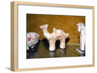 Coptic Terracotta Dromedary, from Egypt, 5th century-Unknown-Framed Giclee Print