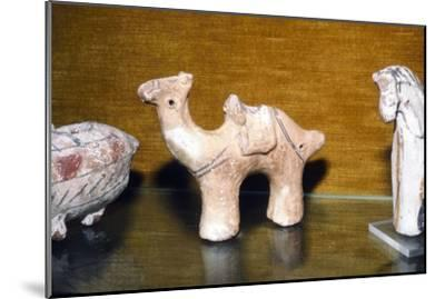 Coptic Terracotta Dromedary, from Egypt, 5th century-Unknown-Mounted Giclee Print
