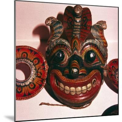 Mask from Java-Unknown-Mounted Giclee Print