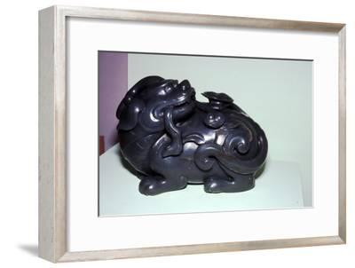 Chinese Jade Lion, symbolises energy for Taoists-Unknown-Framed Giclee Print