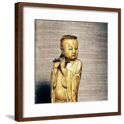 The Taoist Immortal, Han Xiangzi, Ming Dynasty, 17th century-Unknown-Framed Giclee Print